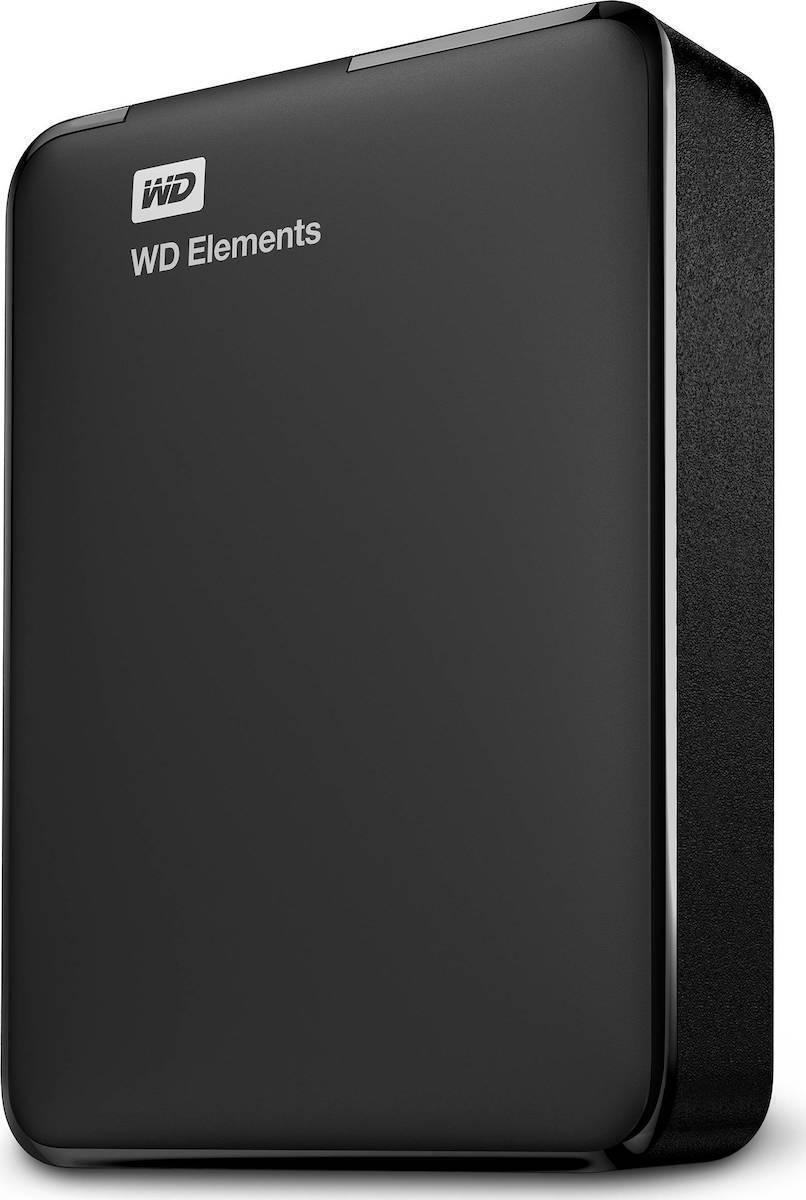 Western Digital Elements Portable 4TB Εξωτερικός Σκληρός Δίσκος USB 3.0