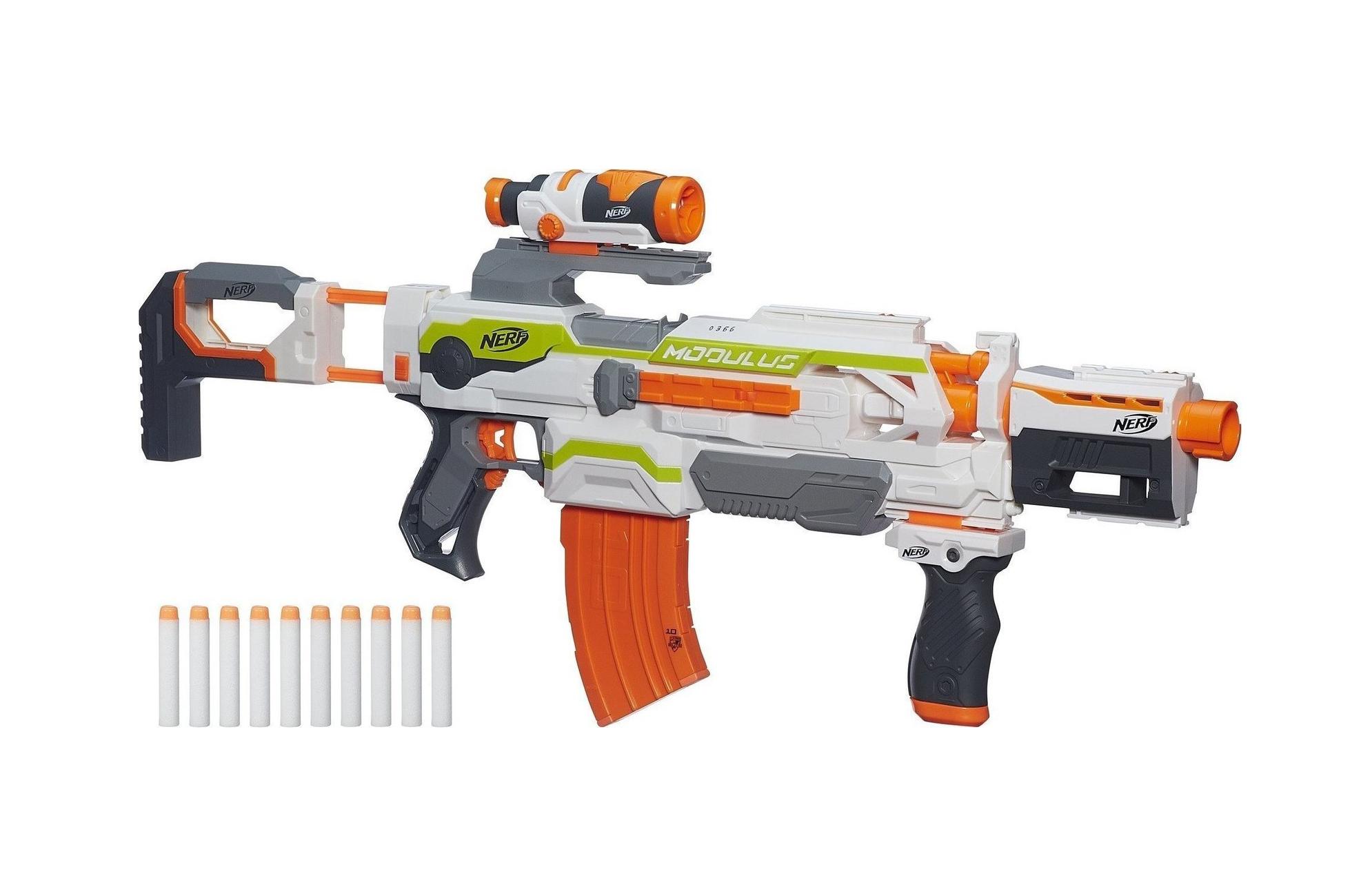 Hasbro Nerf N-Strike Modulus Ecs-10 Blaster B1538