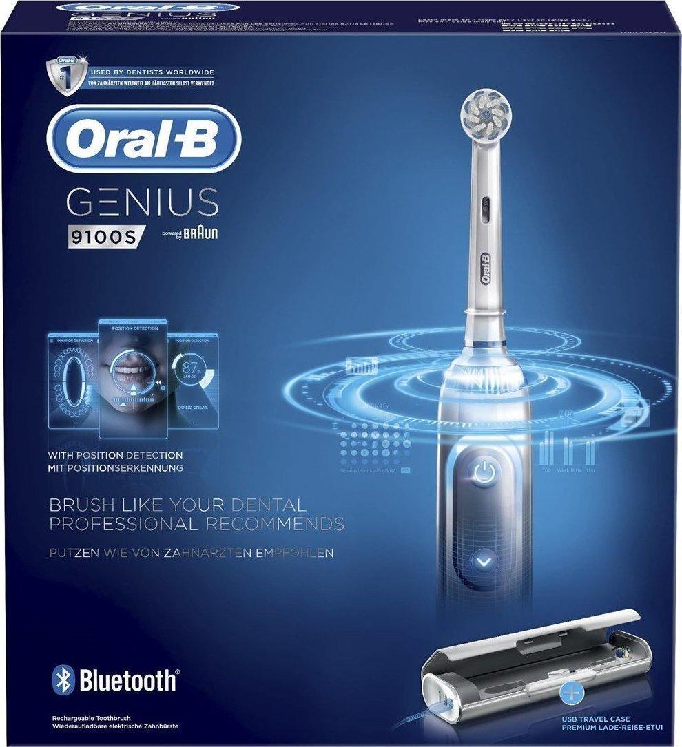 Oral-B Genius 9100S Ηλεκτρική Οδοντόβουρτσα White