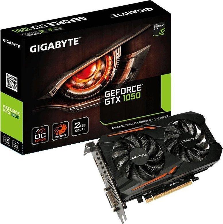 Gigabyte GeForce GTX1050 2GB OC Gaming Κάρτα Γραφικών