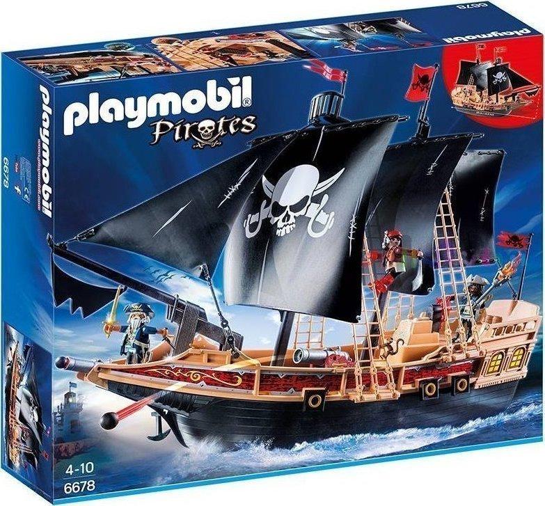 Playmobil Πειρατική Φρεγάτα 6678