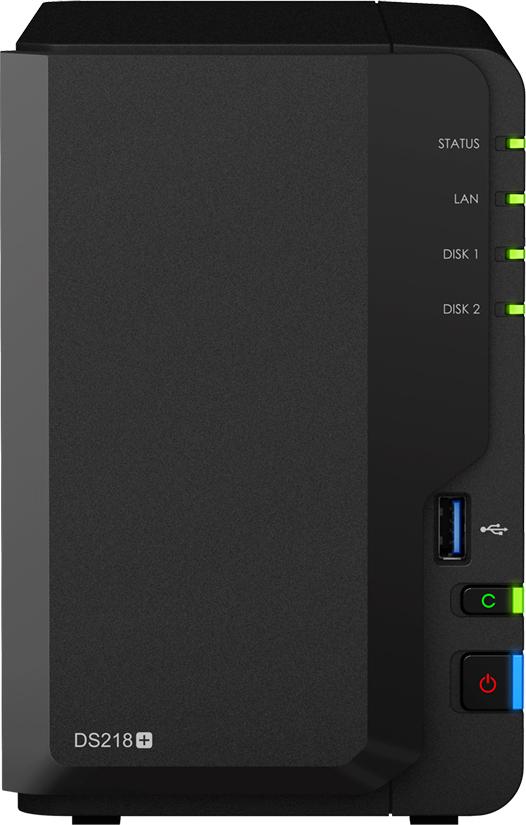 Synology DiskStation DS218+ NAS Server Πληρωμή έως 24 δόσεις