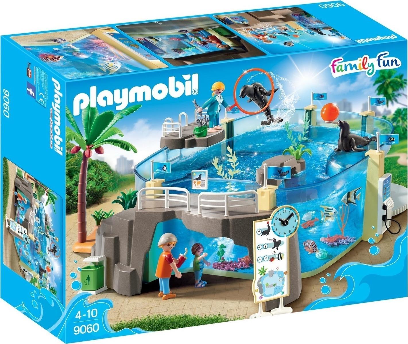 Playmobil Μεγάλο Ενυδρείο 9060