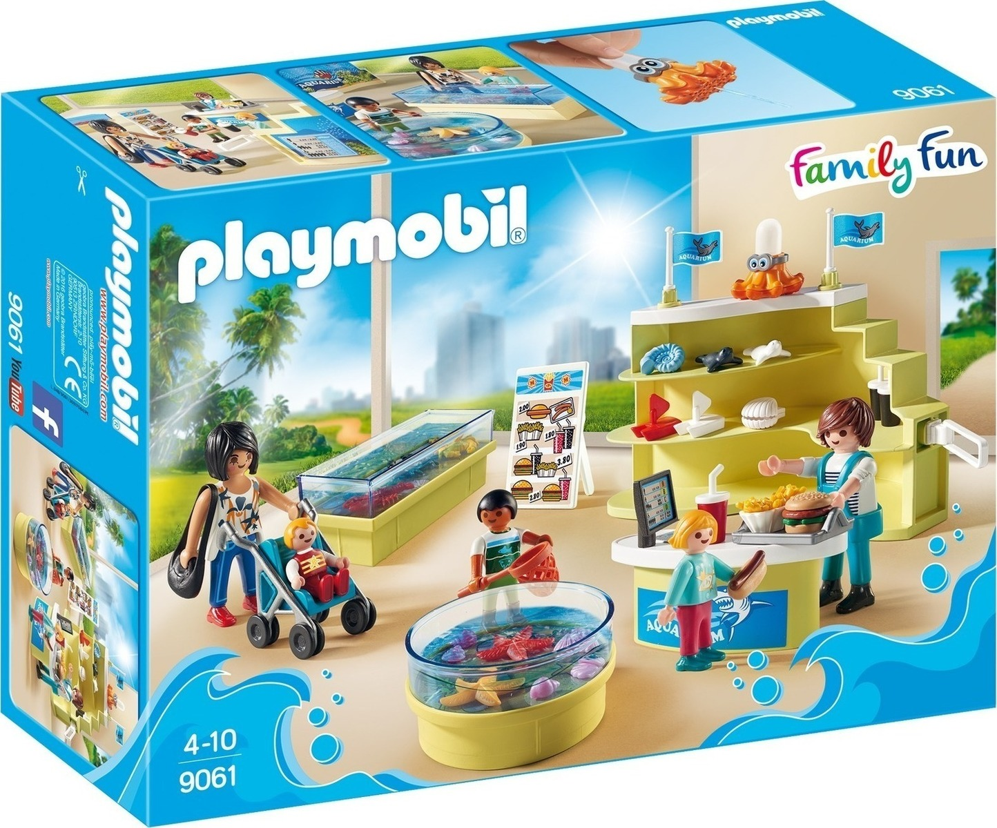 Playmobil Μαγαζί με Ενυδρείο  9061