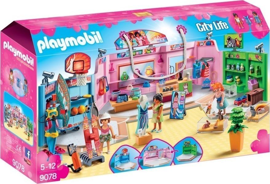 Playmobil Εμπορική Κέντρο 9078