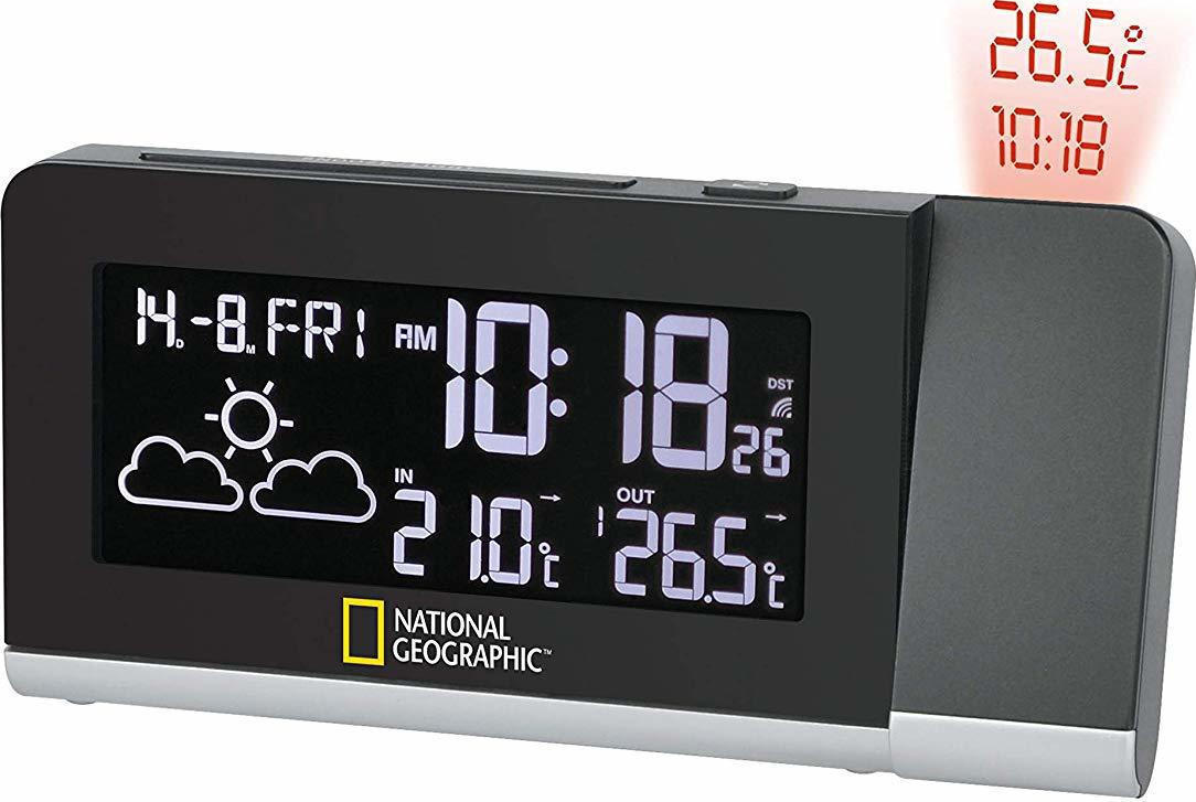 National Geographic Weather Station Projection