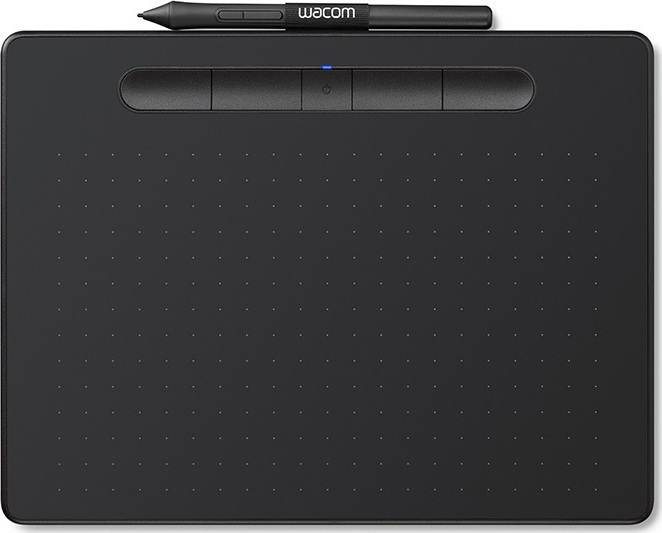 Wacom Intuos S with Bluetooth Black Πληρωμή έως 24 δόσεις