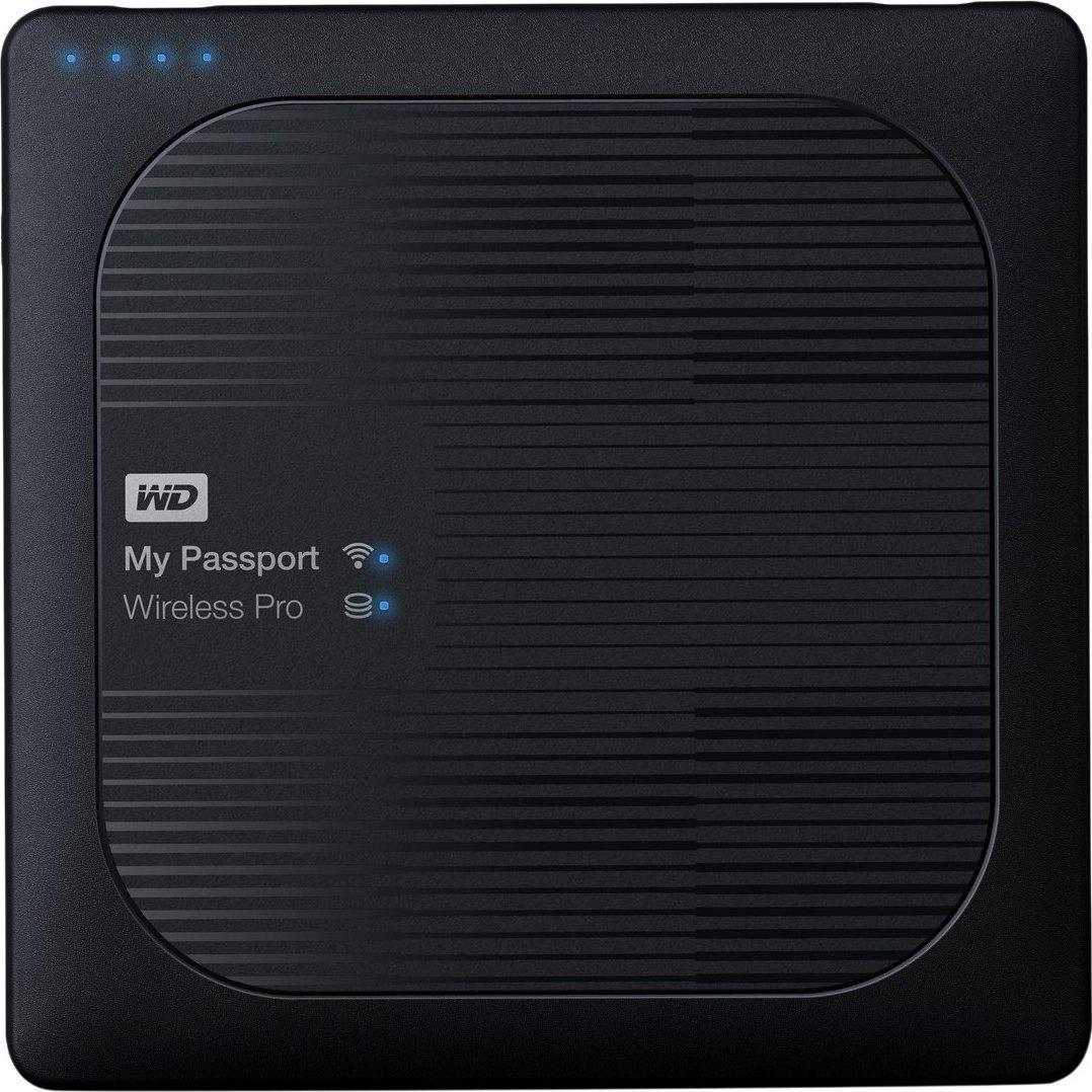Western Digital My Passport Wireless Pro 2TB WLU3 Εξωτερικός Σκληρός Δίσκος USB 3.0