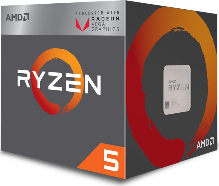 AMD Ryzen 5 2400G Box Επεξεργαστής Πληρωμή έως 24 δόσεις
