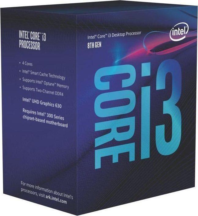 Intel Core i3-8100 Box  Επεξεργαστής Πληρωμή έως 24 δόσεις