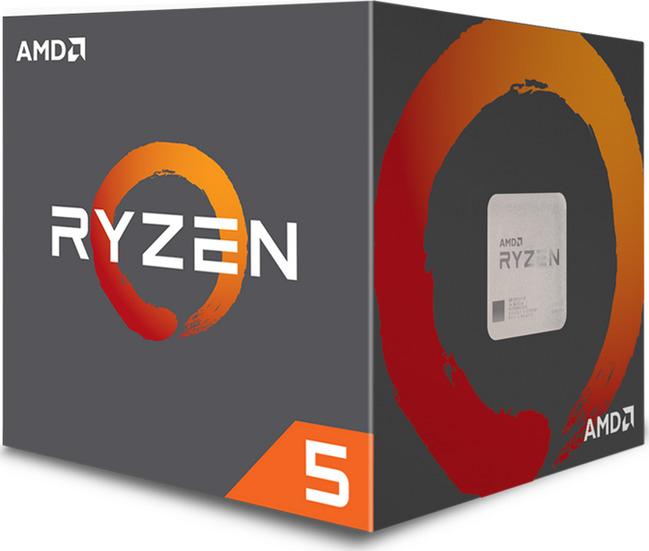 AMD Ryzen 5 2600X Box Επεξεργαστής Πληρωμή έως 24 δόσεις