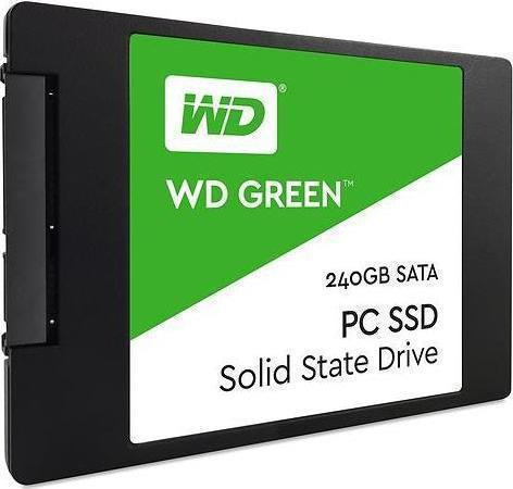 Western Digital WD Green 240GB WDS240G2G0A Σκληρός Δίσκος 2.5'' Sata 3