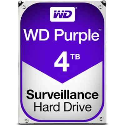 Western Digital Purple 4TB WD40PURZ Σκληρός Δίσκος 3.5'' Sata 3