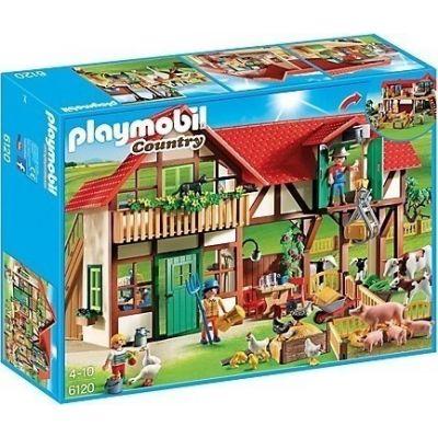 Playmobil Μεγάλη Φάρμα Ζώων 6120