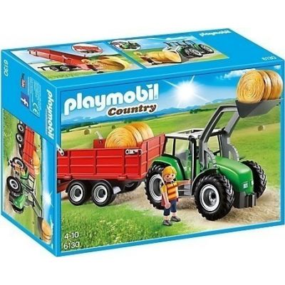 Playmobil Μεγάλο Τρακτέρ με Καρότσα 6130