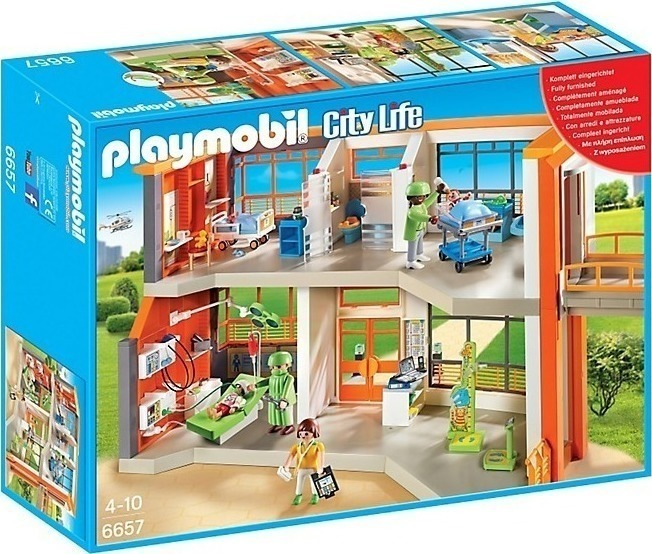 Playmobil Παιδιατρικό Νοσοκομείο 6657