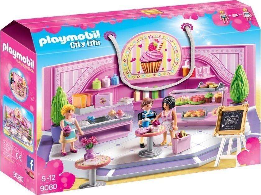 Playmobil Cupcake Cafe 9080