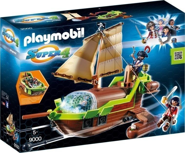 Playmobil H Ρούμπι Με Το Πειρατικό Chameleon 9000