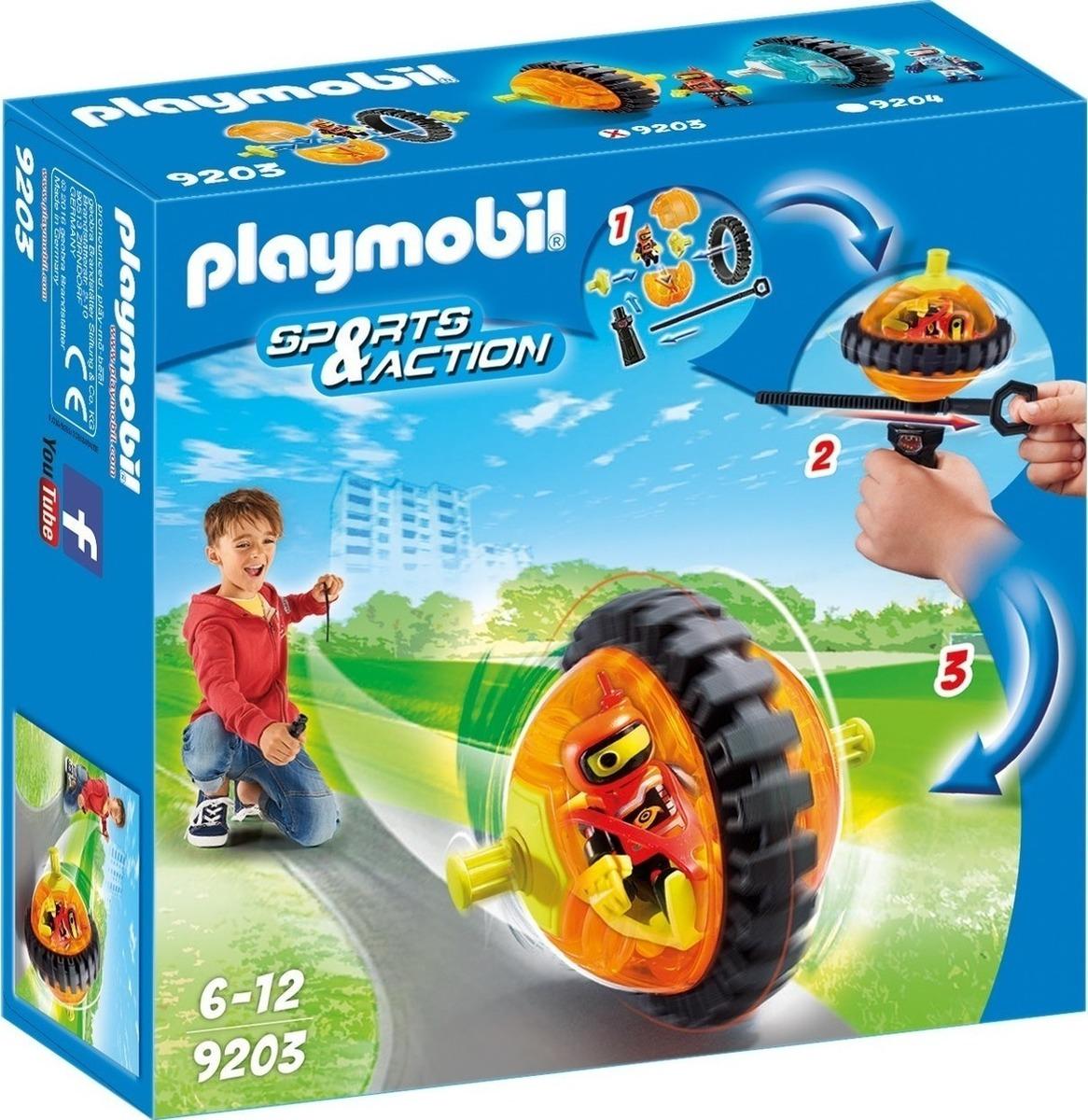 Playmobil Speed Roller Orange 9203