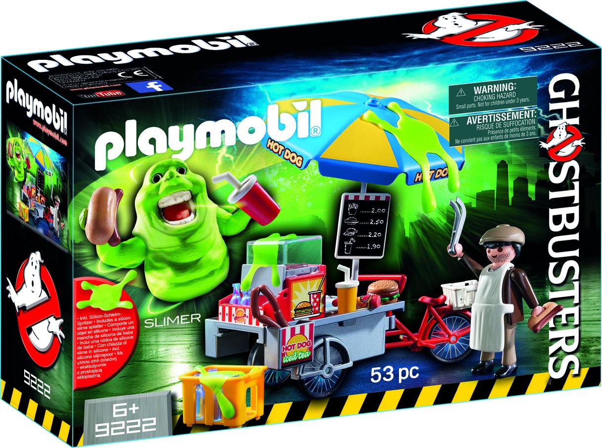 Playmobil Slimer Hot Dog Stand 9222