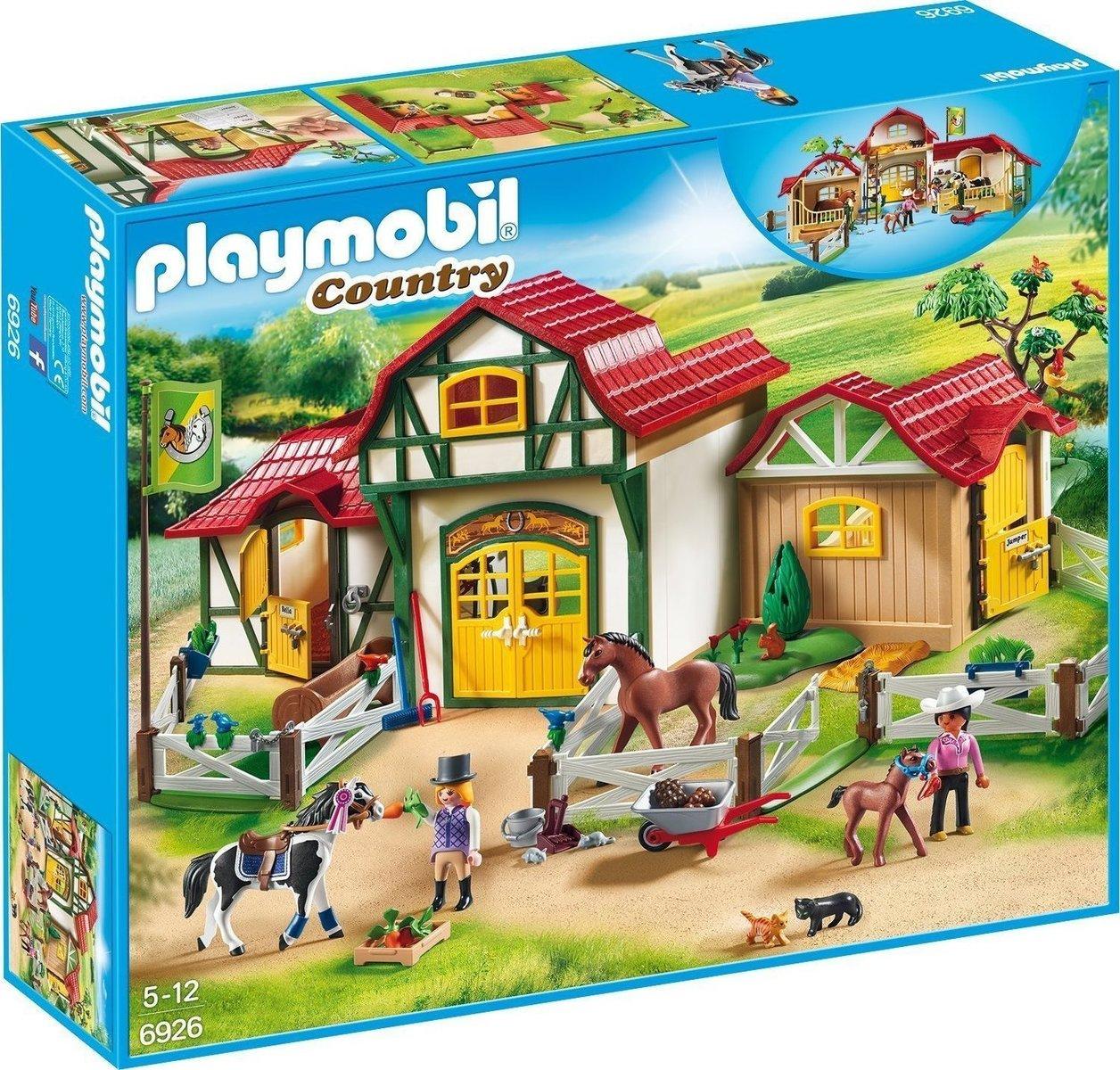 Playmobil Country: Σταθμός Ιππασίας 6926
