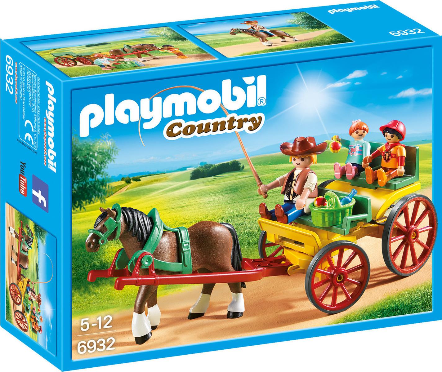 Playmobil Country: Άμαξα με Άλογο 6932