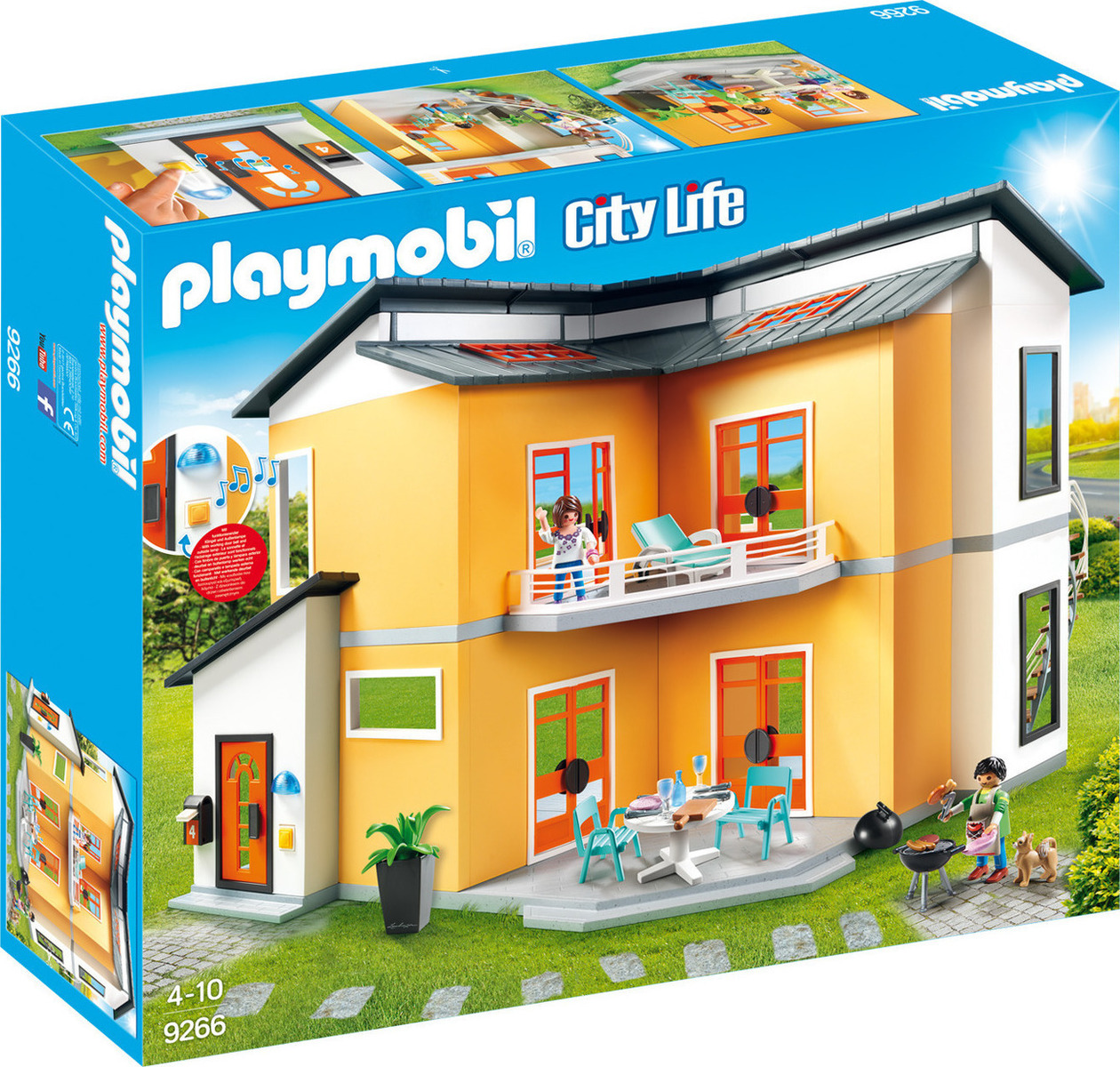 Playmobil City Life: Modern House 9266