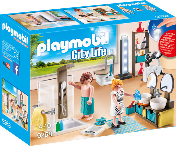 Playmobil City Life: Μπάνιο 9268