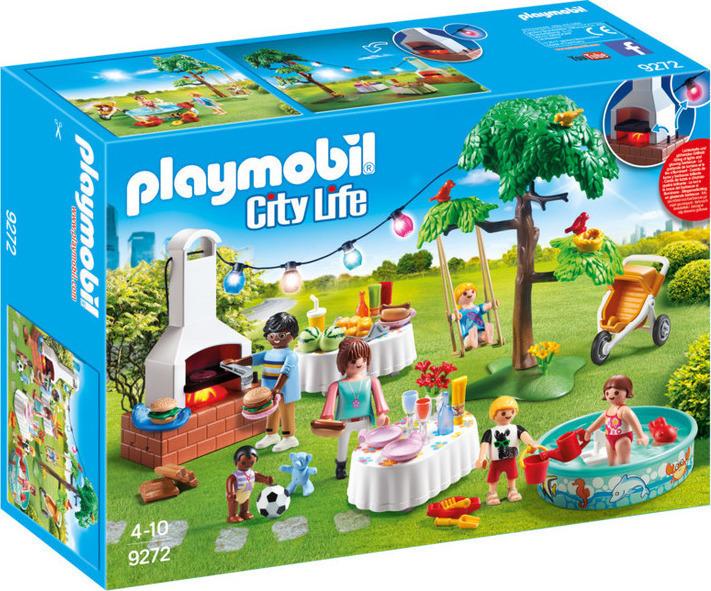 Playmobil City Life: Πάρτι Στον Κήπο Μπάρμπεκιου 9272