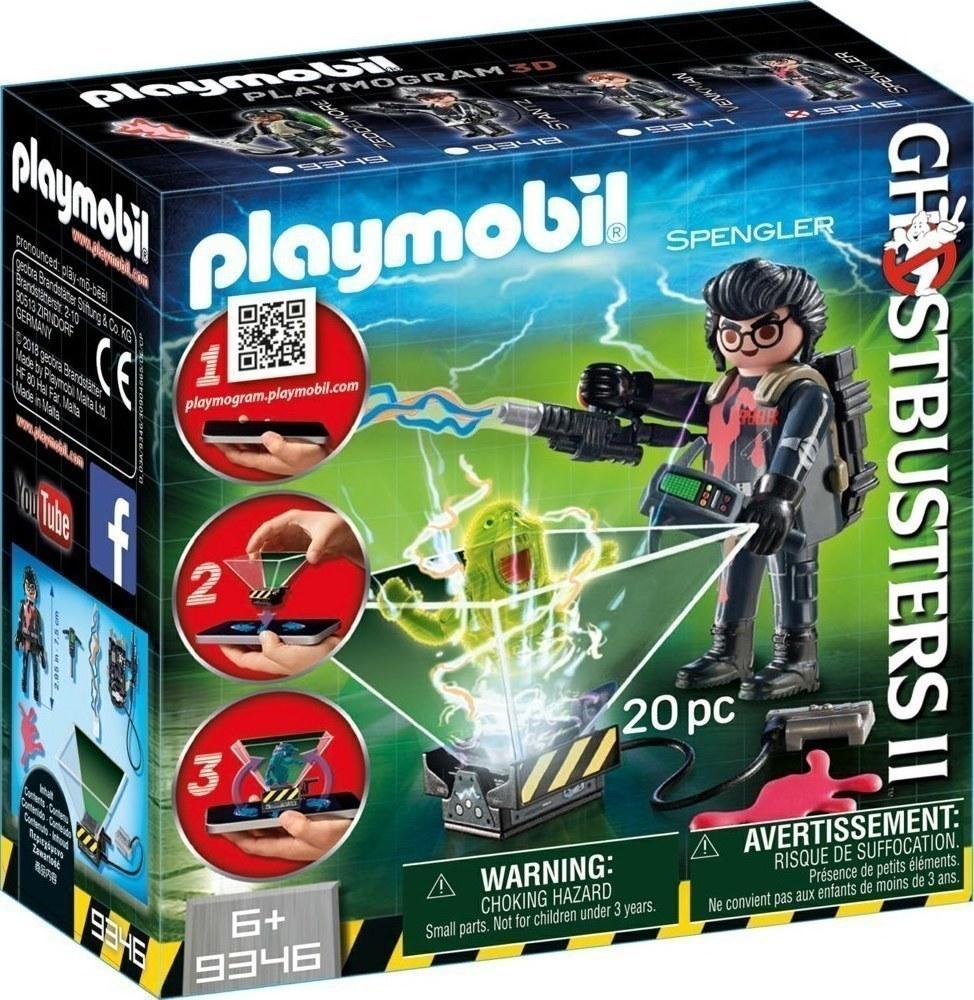 Playmobil Ghostbusters: Ίγκον Σπένγκλερ 9346
