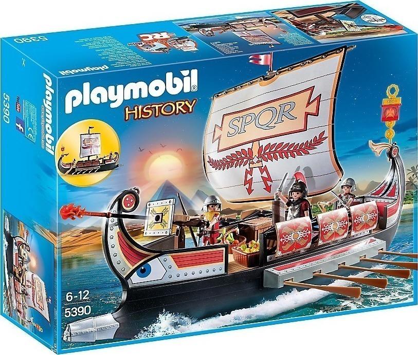 Playmobil Ρωμαϊκή Γαλέρα 5390