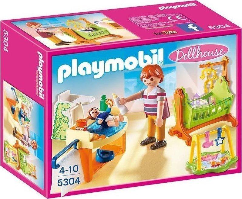 Playmobil Βρεφικό Δωμάτιο Με Κούνια 5304