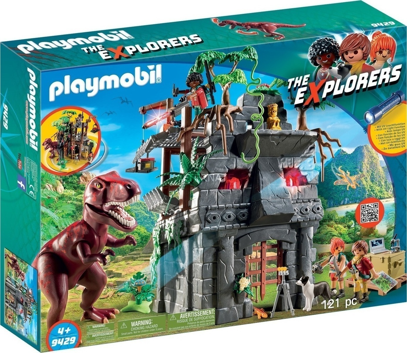 Playmobil The Explorers: Αρχηγείο των Explorers και Τ-Ρεξ  9429