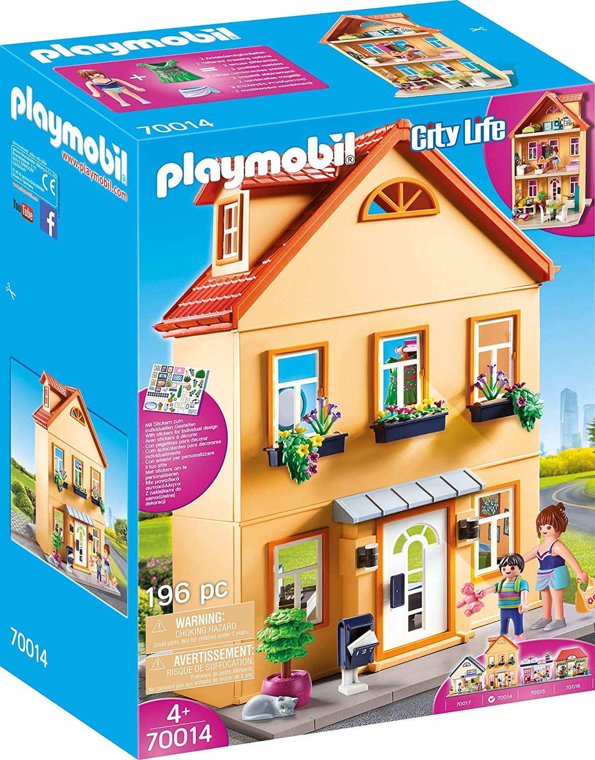 Playmobil City Life My Town House Colourful 70014