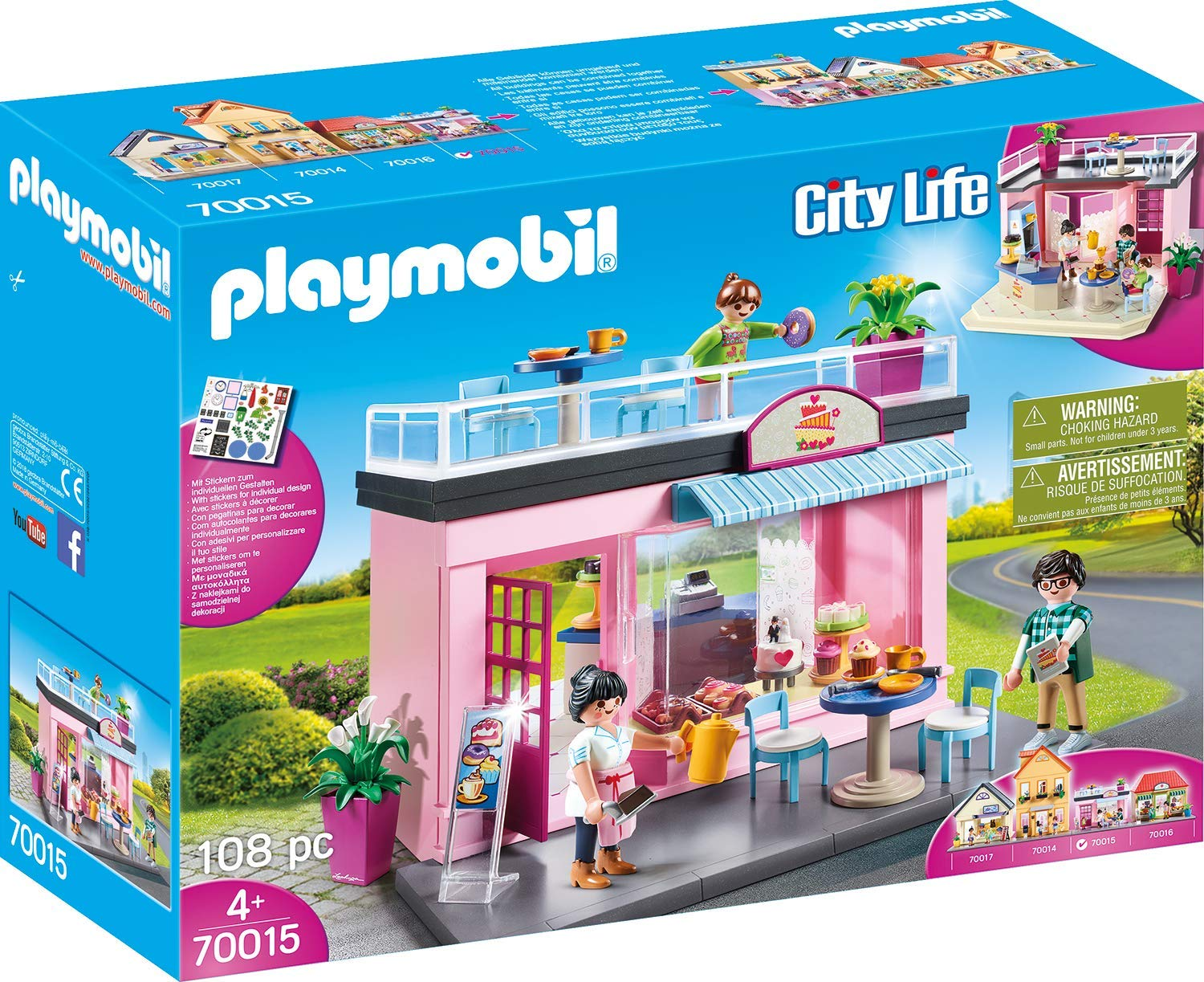 Playmobil City Life My Favorite Café 70015