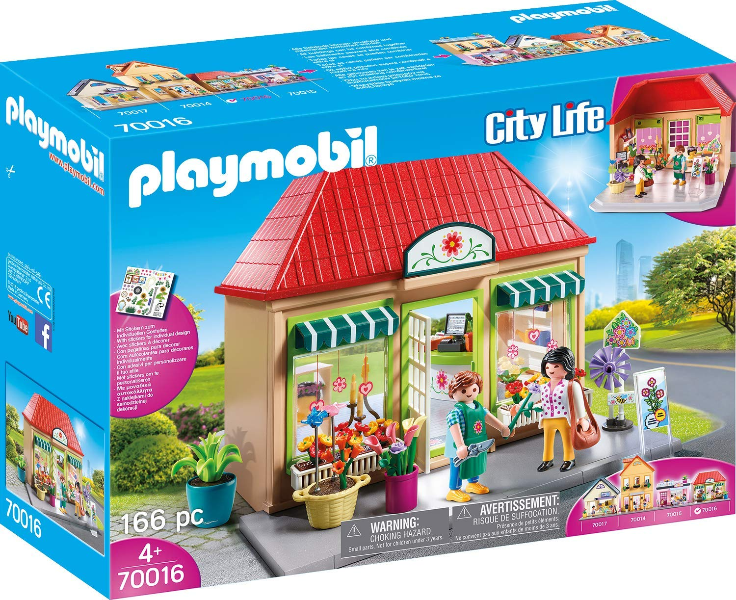 Playmobil City Life My Flower Shop 70016