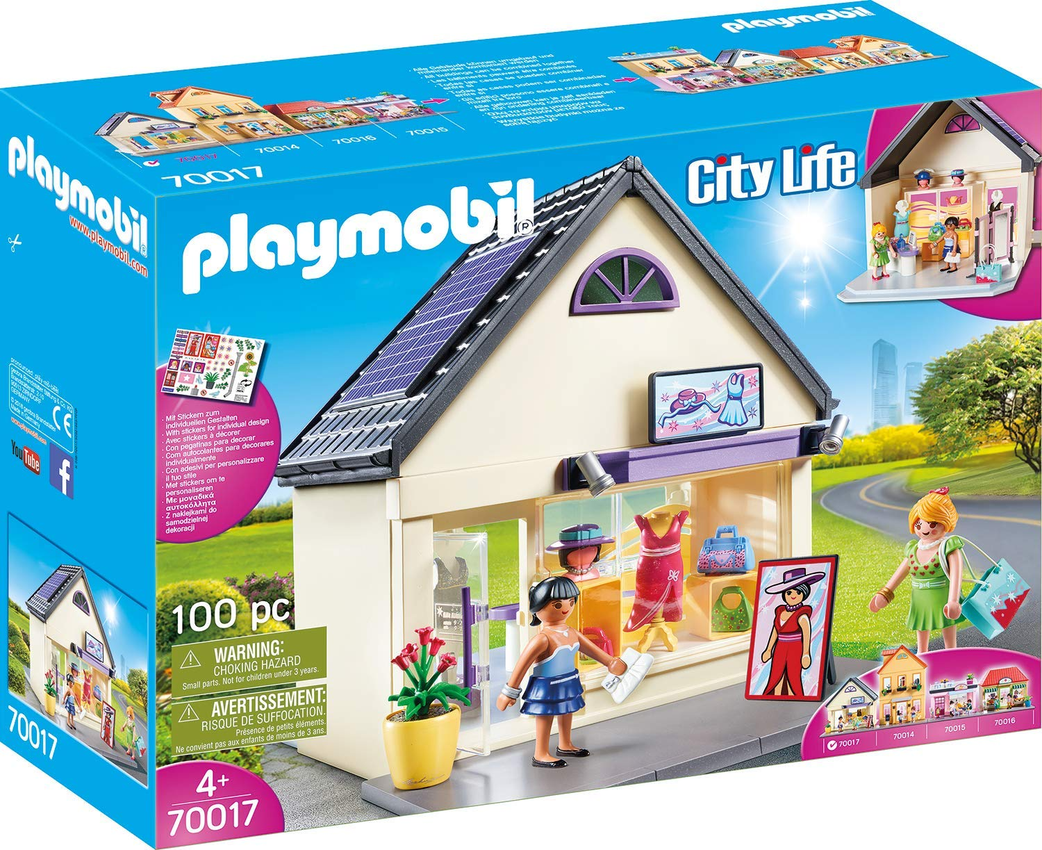 Playmobil City Life My Trendboutique 70017