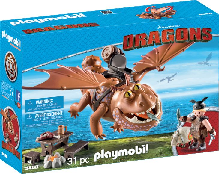 Playmobil Dragons: Whalebone and Meatballs 9460