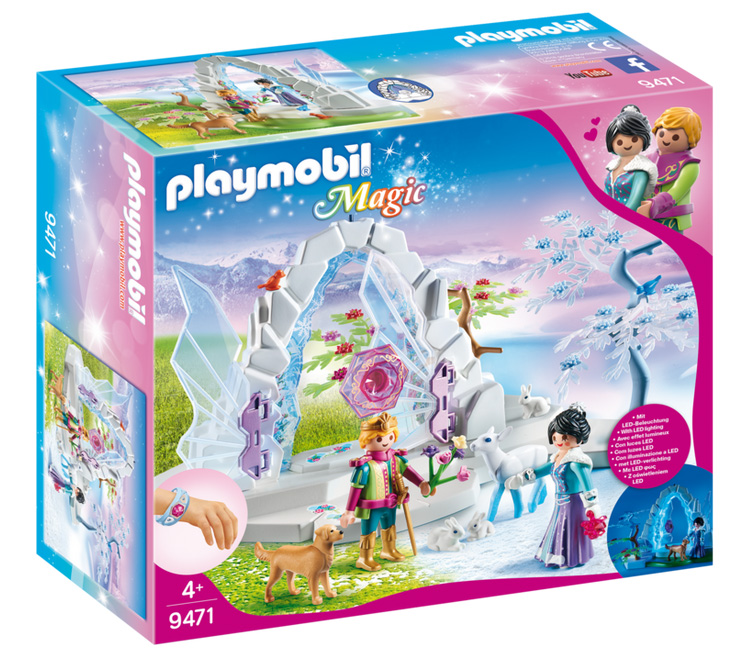 Playmobil Magic: Crystal Gate to The Winter World 9471