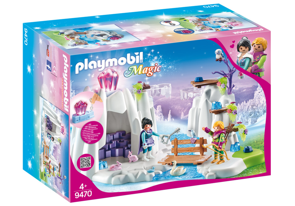 Playmobil Magic: Search for The Love Crystal 9470