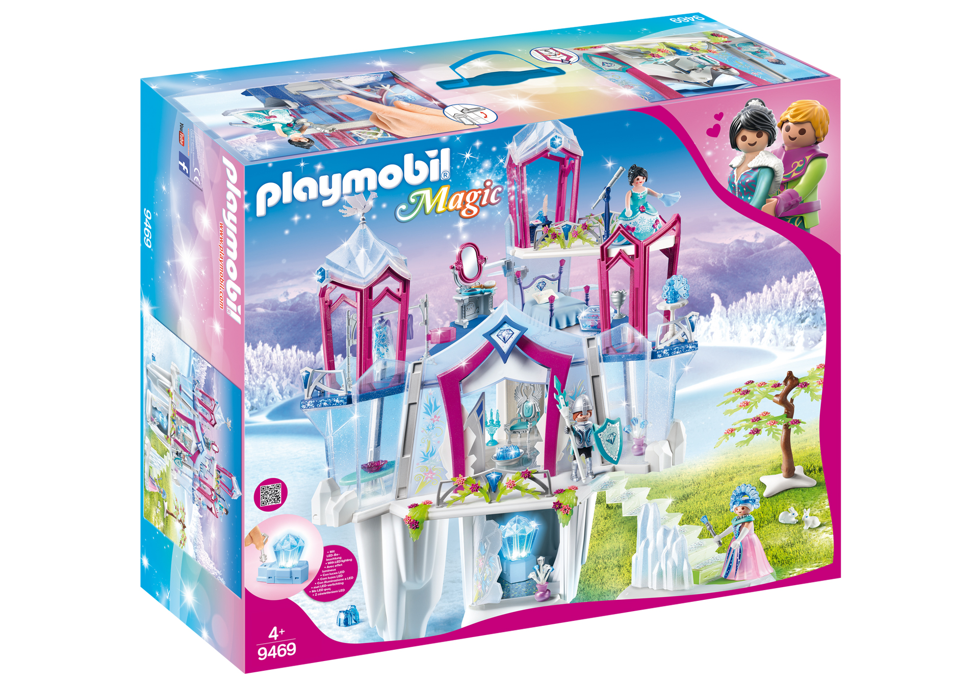 Playmobil Magic: Sparkling Crystal Palace 9469