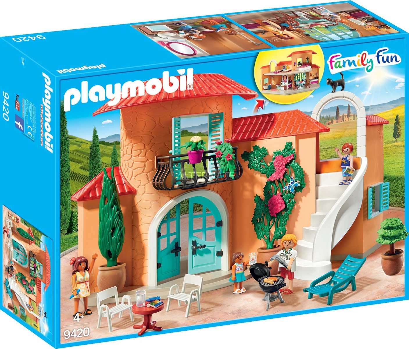 Playmobil Family Fun: Sunny Vacation Villa 9420
