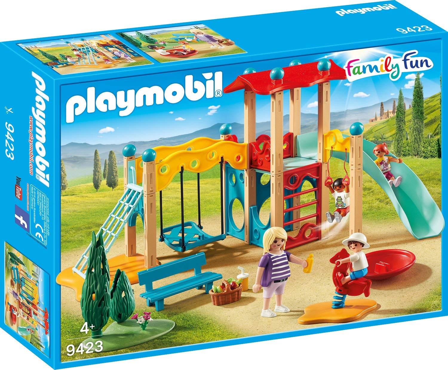 Playmobil Family Fun: Big Playground 9423