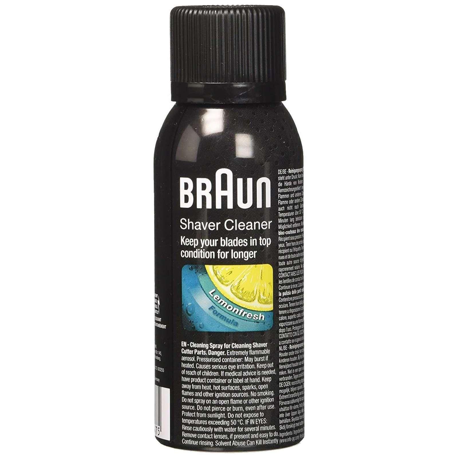 Braun Shaver Cleaner Spray