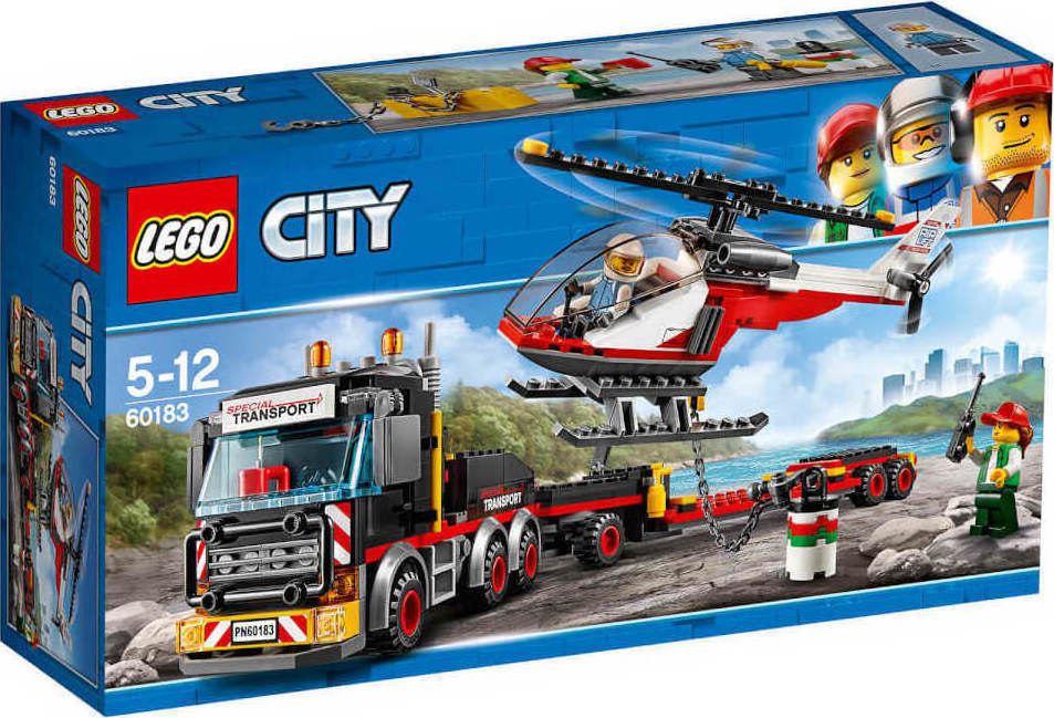 Lego City: Heavy Cargo Transport 60183
