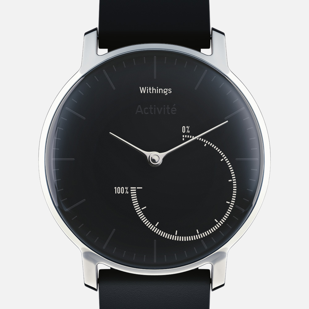 Withings Activite Steel Fitness Tracker Black
