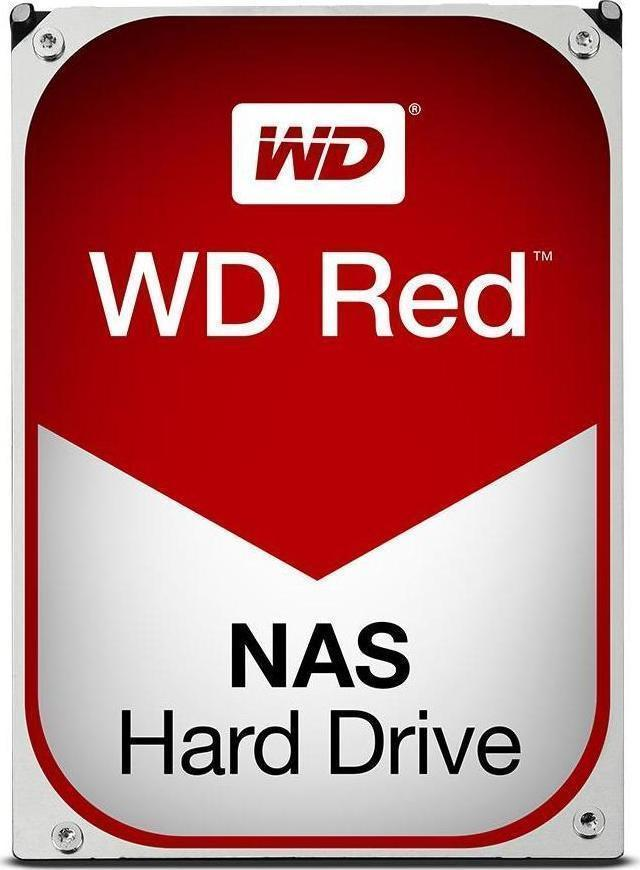 Western Digital Red NAS 10TB WD100EFAX Σκληρός Δίσκος 3.5'' Sata 3