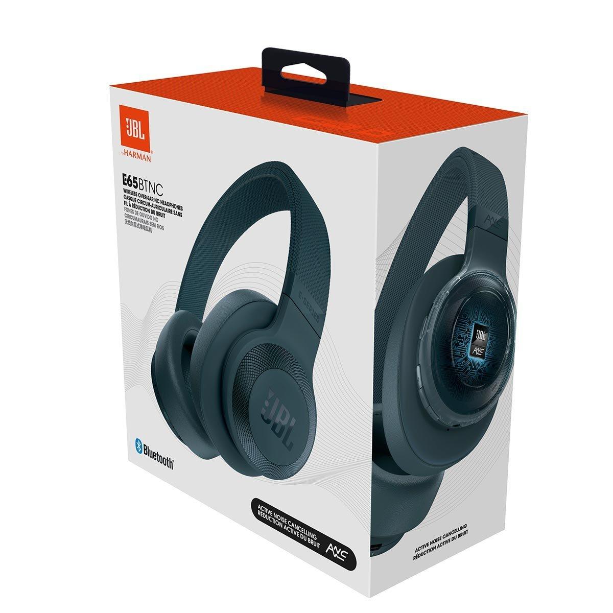 JBL E65BTNC Bluetooth Headphones Black