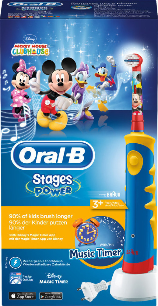 Oral-B Power Stages Mickey Mouse Disney 3+