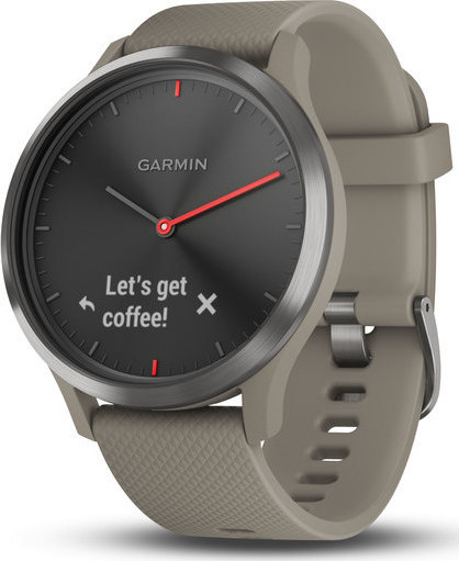 Garmin Vivomove HR Sport Black/Sandstone